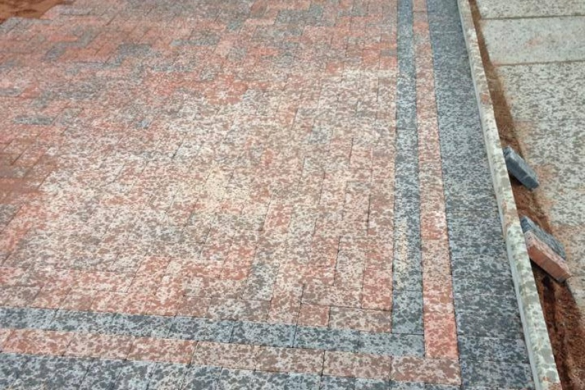 Block Paving Driveway - Walsall - Only drizzling