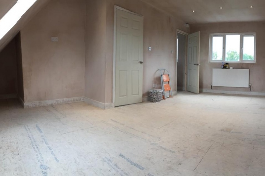 Loft conversion interior build - Walsall -