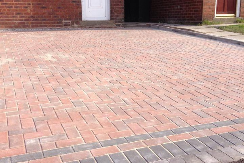 Block Paving Driveway - Walsall - Nearly there