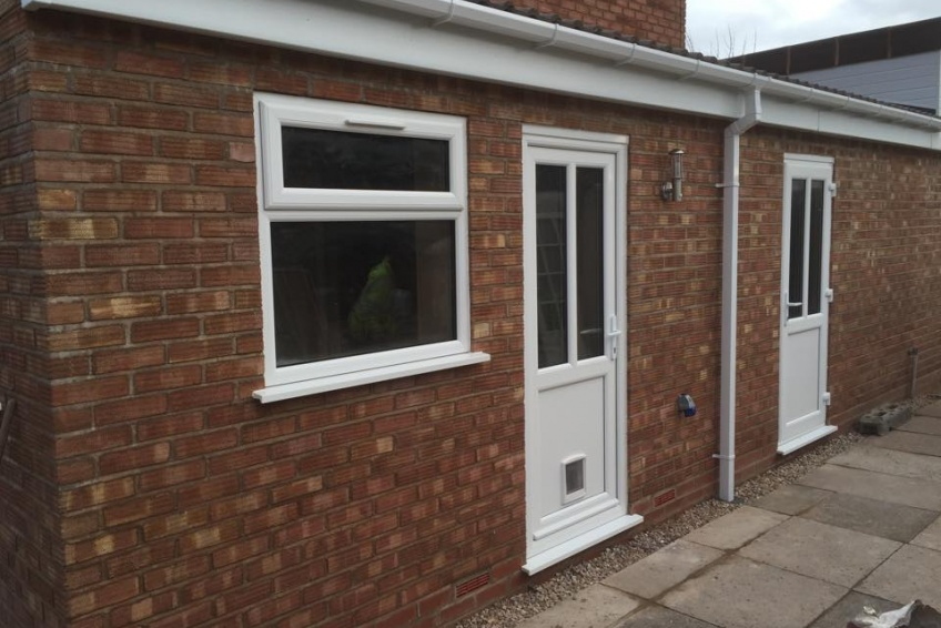 House Extension Building Specialists Walsall, Wednesbury - project nearing completion