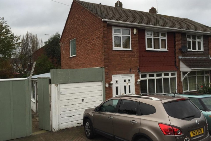 House Extension Building Specialists Walsall, Wednesbury - The start of the project